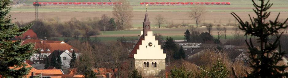 Giebel der Margarethenkirche Foto: Mewes