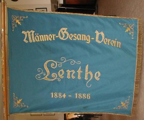 Männergesangsverein Lenthe Banner©Stadt Gehrden