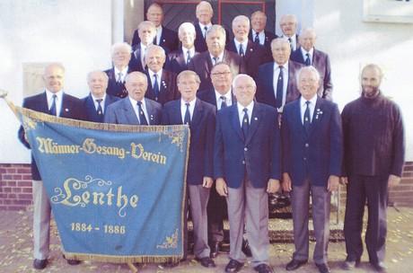 Männergesangsverein Lenthe Gruppenfoto (2008)©Stadt Gehrden