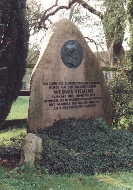 Werner von Siemens Gedenkstein©Siemens